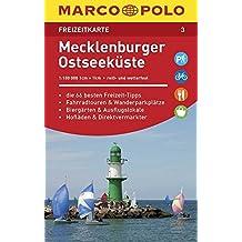 MARCO POLO Freizeitkarte Mecklenburger Ostseeküste