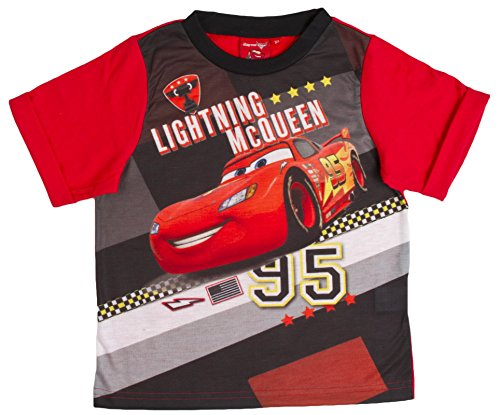 Image of Boys Disney Cars Lightning McQueen Pyjama Set Size 3-4 Years