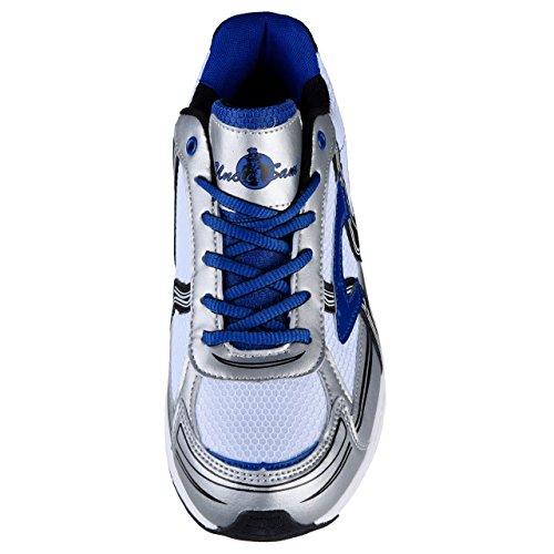 HSM , Chaussures de course pour homme weiss/multi