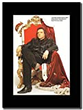 Meat Loaf - Sexiest Man In Pop Magazine Promo on a Black Mount
