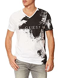 Guess T Shirt Cover Up Tee Optic White Blanc