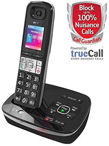 BT (British Telecom) 78626 teléfono DECT TAM 8500 CALL bloque/W [1] Pro-Series (epítome verificó)