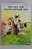 Nici - 60057 - Postkarte, Nr. 55, Freundschaft Liebe, Kuh, Lass mich dein Pferdeflüsterer sein