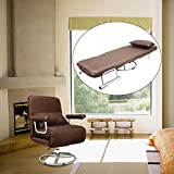 CO-Z 5 Position Folding Sleeper Chair Convertible Sofa Bed Lounge Couch