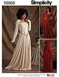 2e69ffba39b3 Simplicity US8866H5 - Cartamodello per costumi da Miss Petite Knit H5