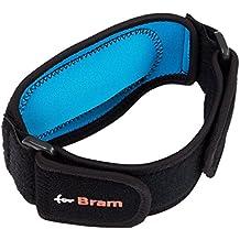 forBram - Supporto braccio gomito tutore epicondilite avambraccio ortopedico tendinite professionisti dai fisioterapisti Regolabile Adatto a giocatori di tennis e golf