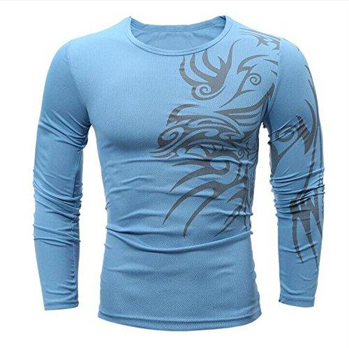 DEELIN Sweatshirts Mens Autumn Winter Casual Zipper Long -