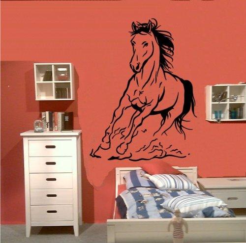 Zertifikato Wandtattoo Wandbild #155 Pferd Pferde Tattoo ver. Größen und Farben