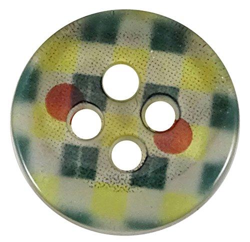 4 Loch DIY Handwerk Kleidung Schaltflächen Pack von 140 Großhandel Runde Kunststoff Zubehör