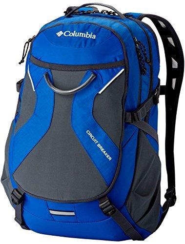 Columbia Laptop-rucksack (Columbia Circuit Breaker Backpack Daypack LAPTOP STUDENT BAG BLUE/GREY)