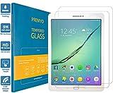 PREMYO 2 Pezzi Vetro temperato Samsung Tab S2 9.7. Pellicola Vetro temperato Tab S2 9.7 con Una durezza di 9H e Bordi arrotondati da 2,5D. Pellicola in Vetro Samsung Galaxy Tab S2 9.7