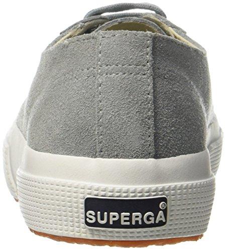 Superga 2750 SUEU, Baskets Femme Grey Suede