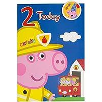 Gemma International Peppa Pig 2nd Birthday Card '2 Today'