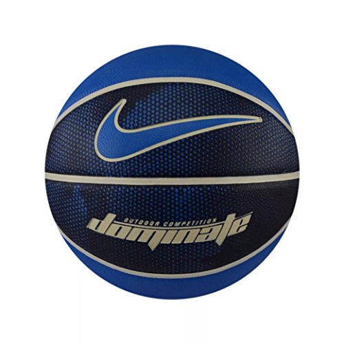 Nike Herren Dominate Basketball, Binary White/lt Photo Blue, 7 (Basketball Outdoor Nike Ball)