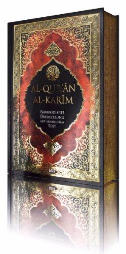 Al-Qur'an al-Karim - Farbkodierte Übersetzung mit arabischem Text