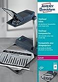 Avery Zweckform 3553 Overhead-Folien (A4, spezialbeschichtet, stapelverarbeitbar) 100 Blatt