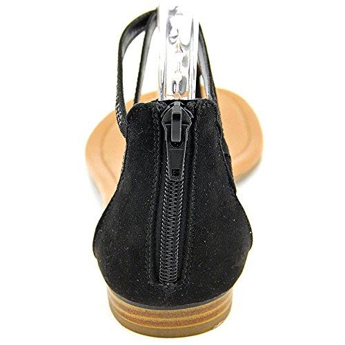 Style & Co Brinna Femmes Simili daim Tongs Black
