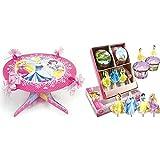 Disney Princesa Soporte para tarta con magdalenas y muffin Pegatinas, ideal para niños Cumpleaños rstag o chica Fiesta temática