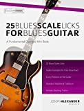 25 Blues Scale Licks for Blues Guitar