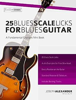 25 Blues Scale Licks for Blues Guitar (English Edition) par [Alexander, Joseph]