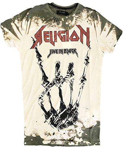 Religion Clothing Herren T-Shirt Shirt HOLY Khaki