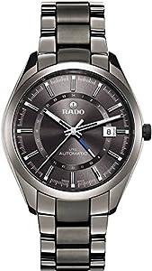Rado HyperChrome XL Grey Dial Grey Ceramic Bracelet and Case Men's Watch R32165102