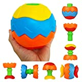 Take Apart Bath Toys Assemble and Disassemble Creative Construction Toys Puzzle Ball Presents for Kids Boys Girls