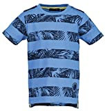 Blue Seven Jungen T-Shirt Palmwedel (802100/523) Blau Gr. 110