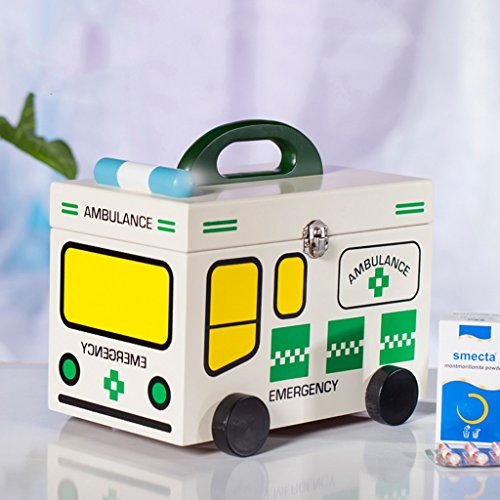 MMM Stockage Drug Bois Medicine ménages Box First Aid Kit bébé Enfants Box Out Of The Box Petite Medicine Box médical