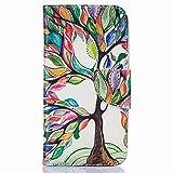 Yiizy LG K5 / X220 / X220ds / X220mb Hülle, Farbige Bäume