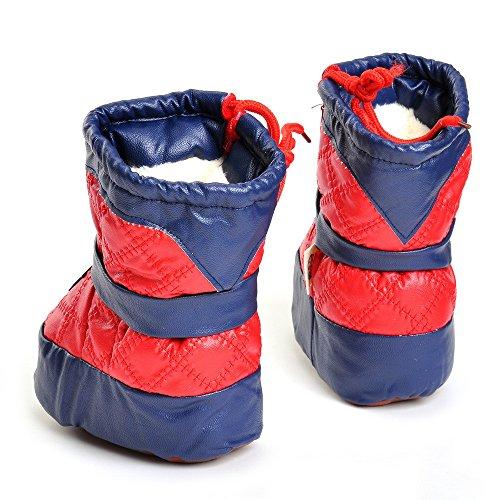 ESTAMICO , Chaussures souples pour bébé (fille) rouge Red 6-12 mois red