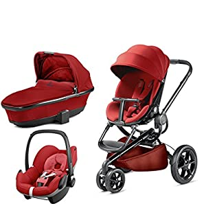 Quinny Moodd with Carrycot Red Rumour and Pebble Red Rumour   7