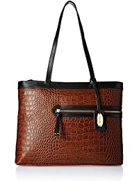 Hidesign  Women Shoulder Bag (Tan)(TOKYO 02 SB-CROCO MELBOURNE RANCH)