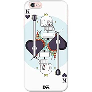 DailyObjects Cards King Hearts 2 White Mobile Case for iPhone 6S