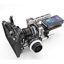 Tilta ES-T13A base para sistema de raíles para Cable HDMI para BlackMagic Pocket Cinema Camera BMPCC mate Follow Focus montaje en V-caja de distribuidor