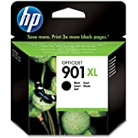 HP 901XL - Cartucho de tinta Original HP 901 XL de álta capacidad Negro para HP OfficeJet J4580, J4660, J4680,~700 páginas