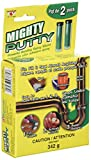 Mighty Putty MP-1001 Fix, Fill & Seal Epoxy Bond. Supports up to 350 Pounds. Set of Six. by Mighty Putty