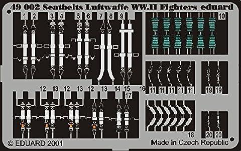 Eduard Photoetch 1:48 - Seatbelts Luftwaffe WWII Fighters - EDP49002