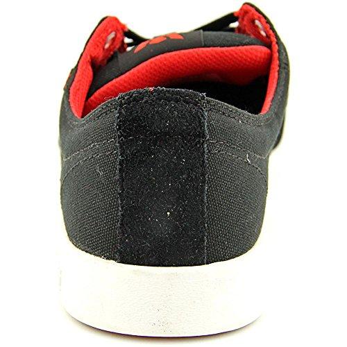 Supra Stacks Ii, Sneakers Basses Mixte adulte Black / red - white