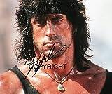 Limited Edition Sylvester Stallone Rambo unterzeichnet Foto Autogramm signiertsigniertes
