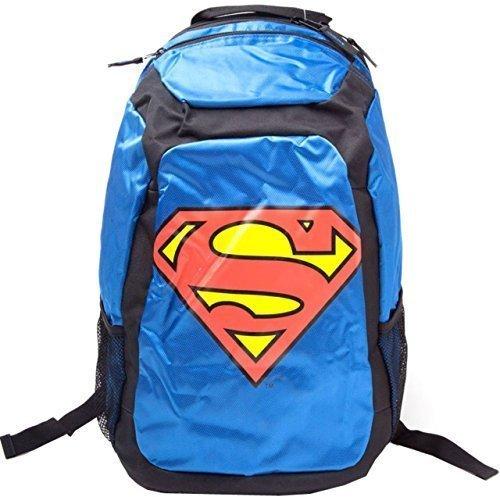 DC Comics Sac d'école sac à dos Superman Nouveauté rouge cape sac bleu / Noir