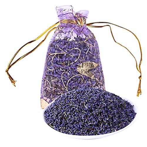 Cool Ring Natürliche Lavendelknospen-getrocknete Blumen-Beutel, Aromatherapie, aromatische Lufterfrischung, Siehe Abbildung, Einheitsgröße