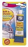 Silikon für Badewanne und Dusche, wasserfest, Weiß