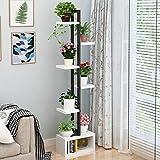 SBS Blumenständer Blumenregal Blumen Rack Aus Massivholz Wohnzimmer Blumenständer Multi-Layer-Indoor-Orchidee Standfuß Balkon Blumentopf Regal,C