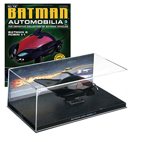 Batman Automobilia Collection Batman-Fahrzeuge Nº 15 Batman & Robin - Ringe Batman Robin Und