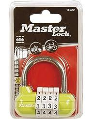 Master Lock 1523EURD Cadenas a combi sport