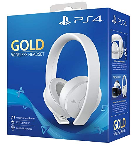 PlayStation 4 Gold Wireless Headset (Farbe: weiß)