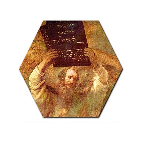 bilderdepot24-cuadros-en-lienzo-rembrandt-viejos-maestros-moises-con-las-tablas-de-la-ley-6-angular-