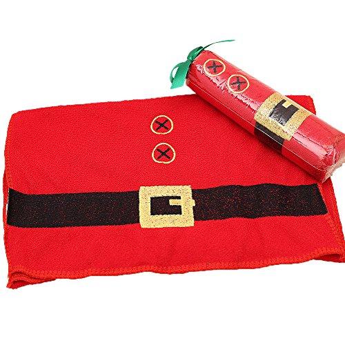 1Stück Weihnachten Handtuch Kleidung Handtuch Bad Dusche Küche Mikrofaser Party Supplies und Geschenke Dekoration für Haus, Faser, Clothing, Clothing - 77.5cm * 34cm