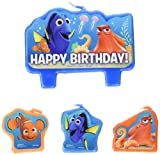 Finding Dory Party Supplies - Birthday Candle Set by Amscan
